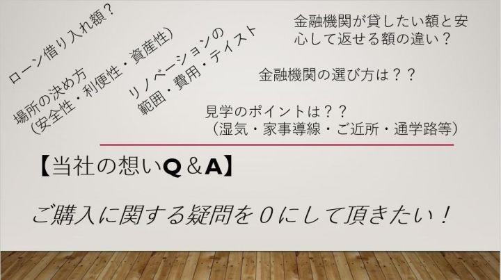 【購入Q&A⑤】希望条件を伝えたら、物件を探してくれるの?
